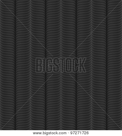 Black 3d seamless pattern