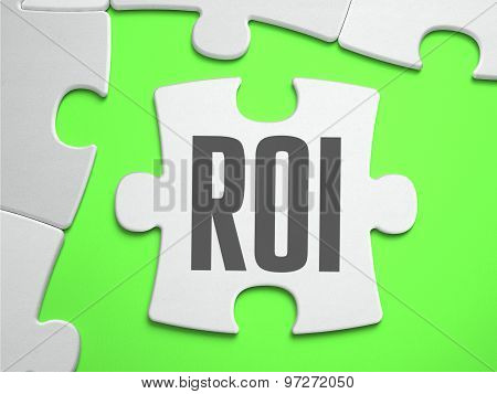 ROI - Jigsaw Puzzle with Missing Pieces.