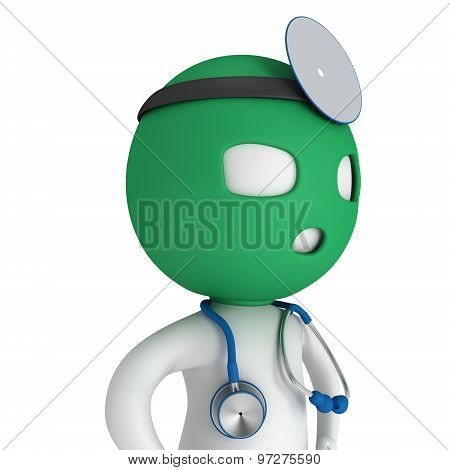 Doctor With Balaklava Mask