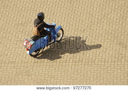 Small motor cycle