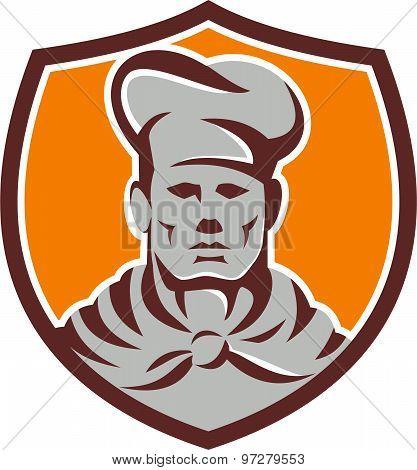 Chef Cook Shield Retro