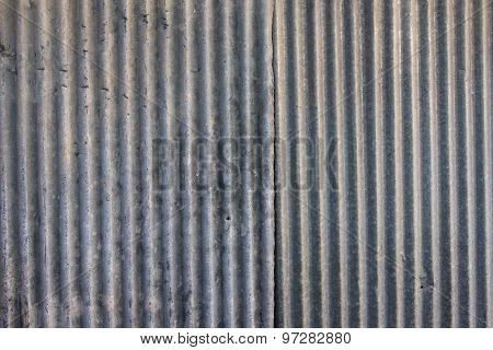Strip Zinc Wall