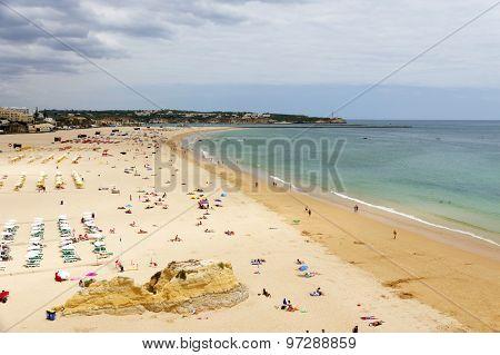 Portimao Beach in Algarve, Portugal, Europe
