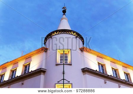 Architectural detail in Faro, Portugal, Europe