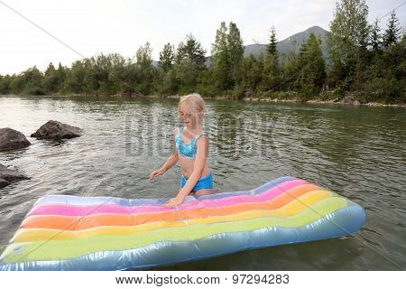 River And Air Bed