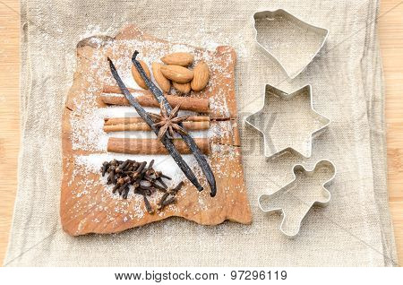 Aromatic Vanilla And Cinnamon Bark
