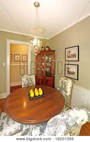 Cute Small Antique Luxury Dining Room