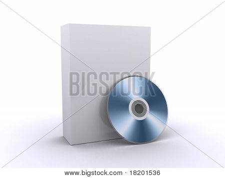 Software Box And A Cd