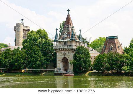 Laxenburg Water Castle near Vienna, Lower Austria