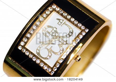 Golden Wristwatch
