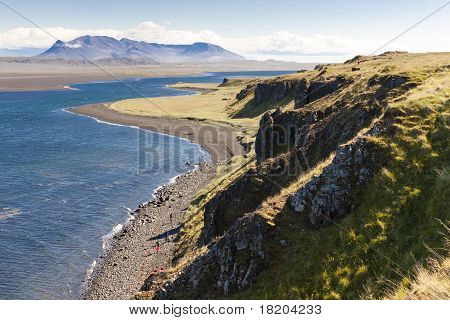 View On Hunafjordur - Iceland