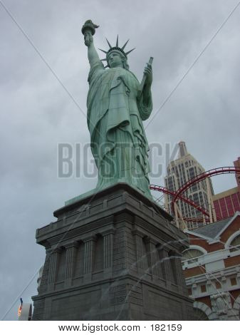Las Vegas. Statue Of Liberty