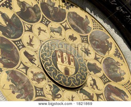 Calendar Of Prague Astronomical Clock