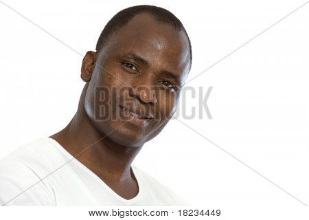 Portrait of an African American