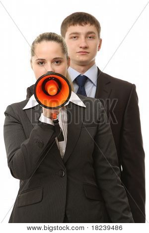 Business loudspeaker