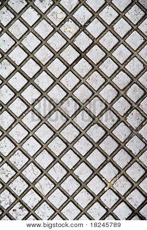 Metallplatte Hintergrund