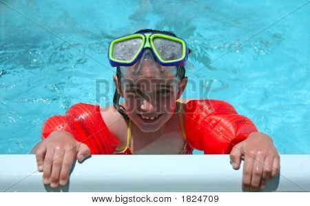Swimming With Goggles