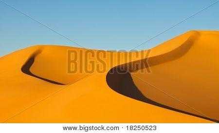 Sand Dunes - Awbari Sand Sea - Sahara Desert, Libya