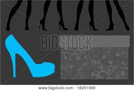 Loja de calçados.