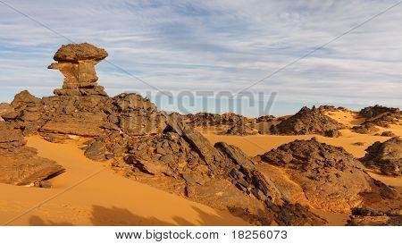 Akakus (acacus) Mountains, Sahara, Libya