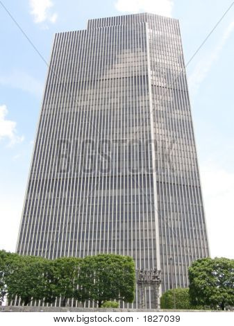 Corning Tower In Albany, New York