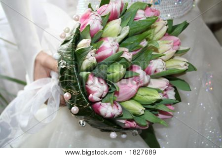 A Wedding Bouquet Of The Bride