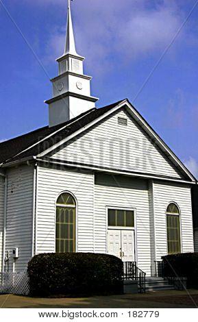 White Clapboard Church