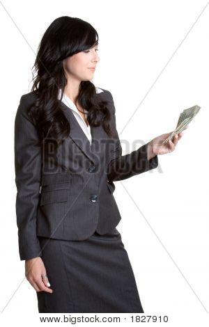 Money Businesswoman
