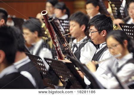 bassoon boy