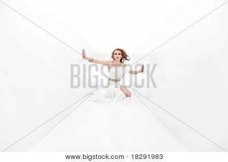 Greece Woman Looking Seductive
