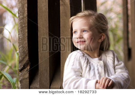 Young Girl Pondering