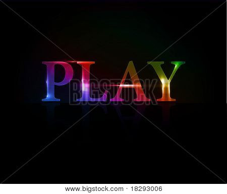 Play Colorful Text