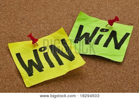 Win-win Strategy Concept