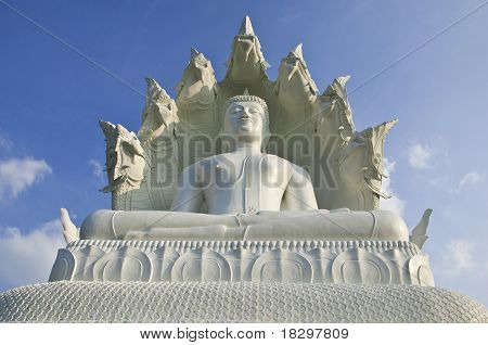 Great White Buddha.