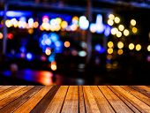 Image Of  Blurred Bokeh Background With Colorful Lights (blurred) poster
