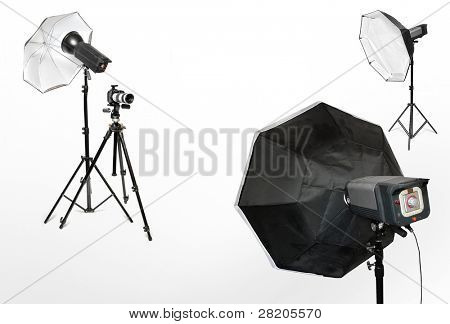 Tools for professional photographers working in studio.