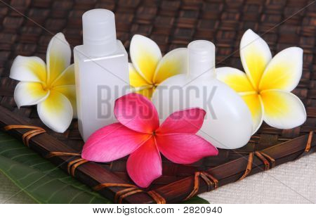 Tropical Day Spa Products With Frangiapanis