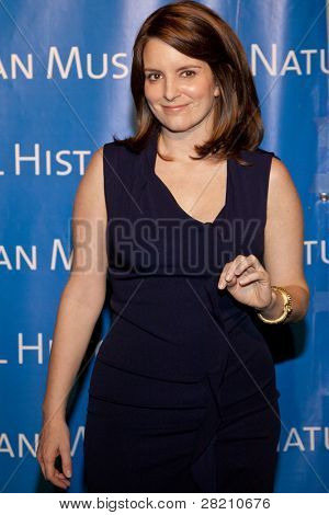 NEW YORK - NOV 10: Tina Fey attends the American Museum of Natural History's  2011 Gala on November 10, 2011 in New York City, NY.