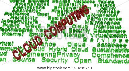 cloud computing terminologies