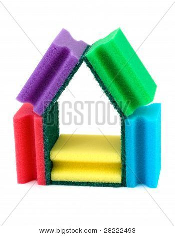 House Made Of Sponges