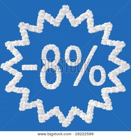 Discount - 8 Percent