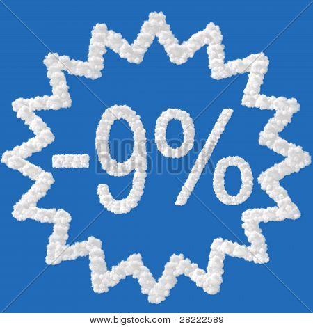 Discount - 9 Percent
