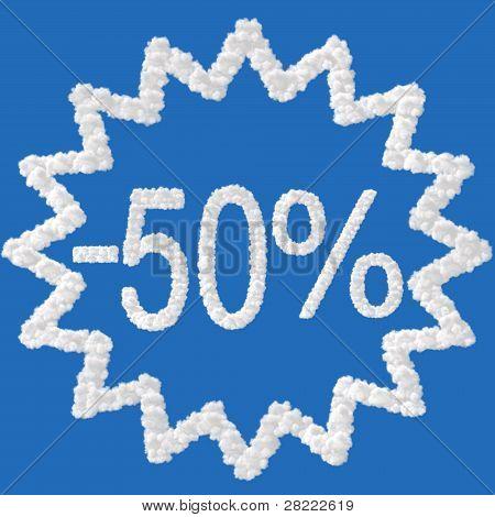 Discount - 50 Percent