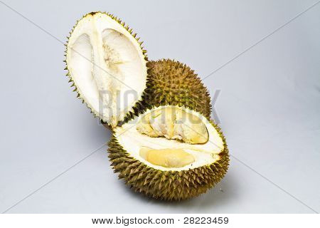 Opened Durian