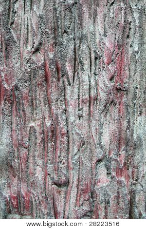 Texture Of Tree Bark Background Closeup