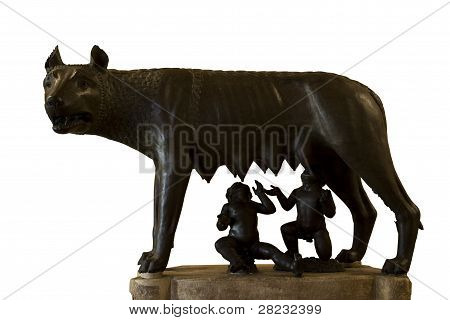 romulus and remus rome symbol