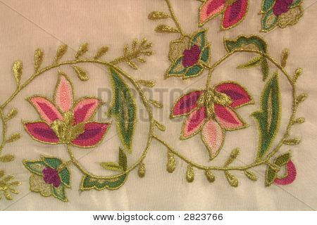 A Turkish Motif At Needlework