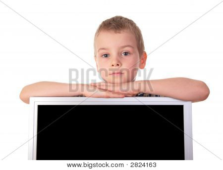Boy With Display