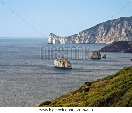 Rocky Islands On Sardinia