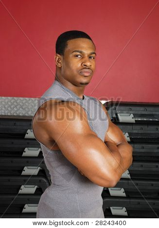 African American Fitness Trainer